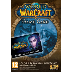 WORLD OF WARCRAFT - TARJETA DE PRE-PAGO-PC