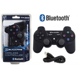 PS3 ACA MANDO BLUETOOTH BLACKFIRE NEGRO