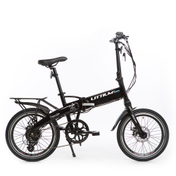 BICICLETA ELECTRICA DOGMA BLACK PLEGABLE