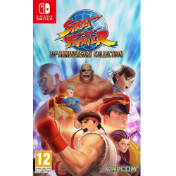 STREET FIGHTER 30TH ANNIVERSARY COLLECTION-SWITCH