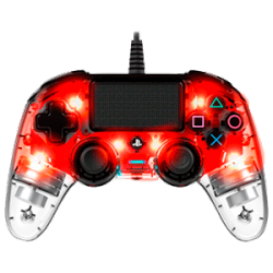 PS4 AC MANDO LIGHT NACON ROJO