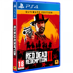 RED DEAD REDEMPTIOM 2 ULTIMATE EDITION-PS4