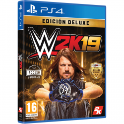 WWE 2K19 DELUXE EDITION-PS4