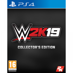 WWE 2K19 COLLECTOR EDITION-PS4