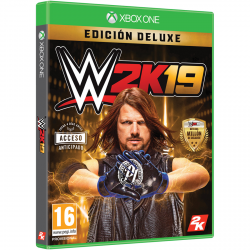 WWE 2K19 DELUXE EDITION-XBOX ONE