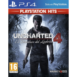 UNCHARTED 4 A THIEFS END HITS-PS4