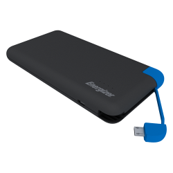 POWERBANK UE8001M GREY & BLUE CABLE ENERGIZER