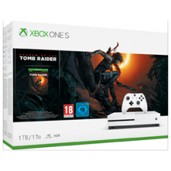 CONSOLA XBOX ONE S 1TB + SHADOW OF THE TOMB RAIDER