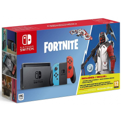 C NINTENDO SWITCH ROJO/AZUL + FORNITE (CODIGO DESCARGA)