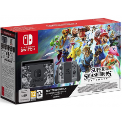 C NINTENDO SWITCH EDICION SUPER SMASH BROS ULTIMATE (CODIGO DESCARGA)