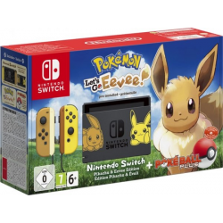 C NINTENDO SWITCH EDICION EEVEE LETS GO EEVEE + POKE BALL PLUS
