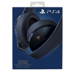 PS4 HEADSET WIRELESS GOLD /NAVY BLUE
