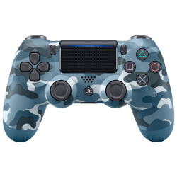 PS4 DUALSHOCK CONT BLUE CAMOUFLAGE