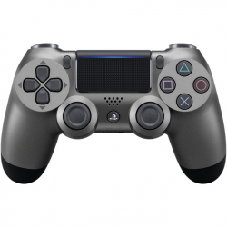PS4 DUALSHOCK CONT STEEL BACK V2