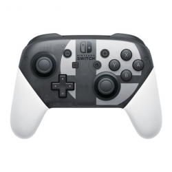 SWITCH PRO CONTROLLER SUPER SMASH BROS + CABLE USB - LIMITED EDITION