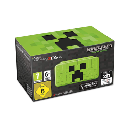 CONSOLA NEW 2DS XL MINECRAFT EDITION + MINECRAFT