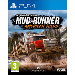 SPINTIRES:MUDRUNNER. AMERICAN WILD EDITION-PS4