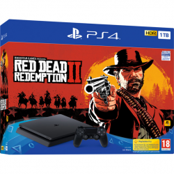 CONSOLA RED DEAD REDEMPTION II/PS4 1TB F/SPA