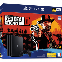 CONSOLA RED DEAD REDEMPTION II/PS4 PRO 1TB G/SPA