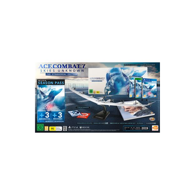 ACE COMBAT 7: SKIES UNKNOWN - THE STRANGEREAL EDITION-PC