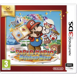 PAPER MARIO STICKER STAR SELECT-3DS