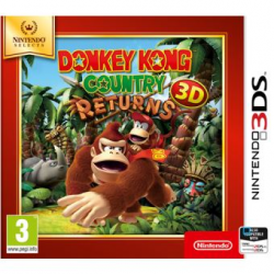 DONKEY KONG COUNTRY RETURNS-3DS SELECTS