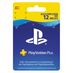 TARJETA PLAYSTATION PLUS CARD HANG 365 DAYS