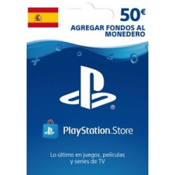 TARJETA PLAYSTATION LIVE CARDS HANG EUR 50