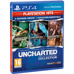 UNCHARTED COLLECTION HITS-PS4