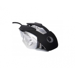 MOUSE GAMING SILVER HT ALLIGATOR PRECISSION PRO NEGRO