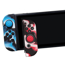 SWITCH SILICONE SLEEVE JOYCON GAMER KIT BLACKFIRE NSW