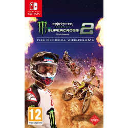 MONSTER ENERGY SUPERCROSS: THE OFFICIAL VIDEOGAME 2 - SWITCH