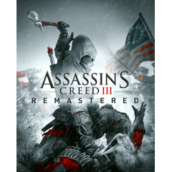 ASSASSIN'S CREED III REMASTERED-PS4