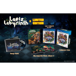 LAPIS X LABYRINTH X LIMITED EDITION-PS4