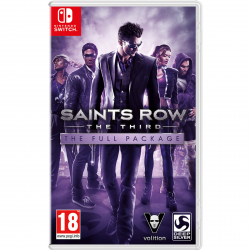 SAINTS ROW THE THIRD: THE FULL PACKAGE-SWITCH