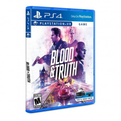 VR BLOOD AND TRUTH-PS4