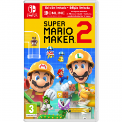 SUPER MARIO MAKER 2+12 MESES NSO-SWITCH