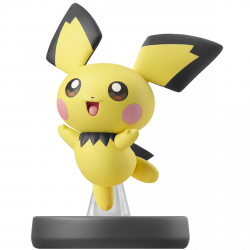 FIG AMIIBO PICHU (COLECCION SUPER SMASH BROS)