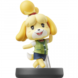 FIG AMIIBO CANELA (COLECCION SUPER SMASH BROS)