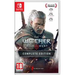 THE WITCHER 3: WILD HUNT COMPLETE EDITION-SWITCH