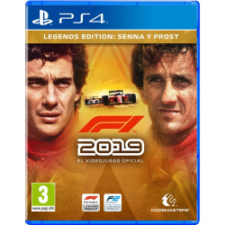 F1 2019 LEGENDS EDITION -PS4