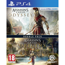 ASSASSINS CREED ODYSSEY+ASSASSINS CREED ORIGINS PACK-PS4