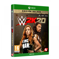 WWE 2K20 DELUXE EDITION-XBOX ONE