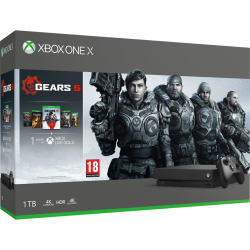 CONSOLA XBOX ONE X 1TB + GEARS OF WAR 5