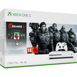 CONSOLA XBOX ONE S 1TB + GEARS OF WAR 5