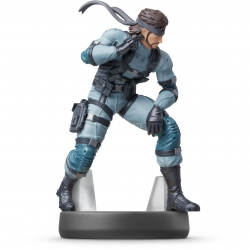 FIG AMIIBO SOLID SNAKE (COLECCION SUPER SMASH BROS)