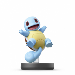 FIG AMIIBO SQUIRTLE (COLECCION SUPER SMASH BROS)