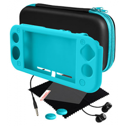 SWITCH KIT GAMER BLACKFIRE AZUL TURQUESA PARA NINTENDO SWITCH LITE