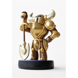 FIG AMIIBO SHOVEL KNIGHT: TREASURE TROVE - AMIIBO DORADO