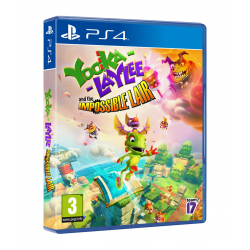 YOOKA-LAYLEE AND THE IMPOSSIBLE LAIR-PS4